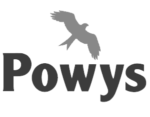 Powys County Council (in Wales) Logo
